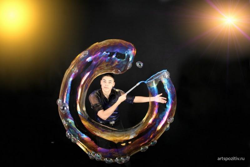 Soap bubbles - vector