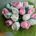 Букеты из бумажных цветов