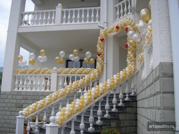 Декорирование воздушными шарами в Самаре